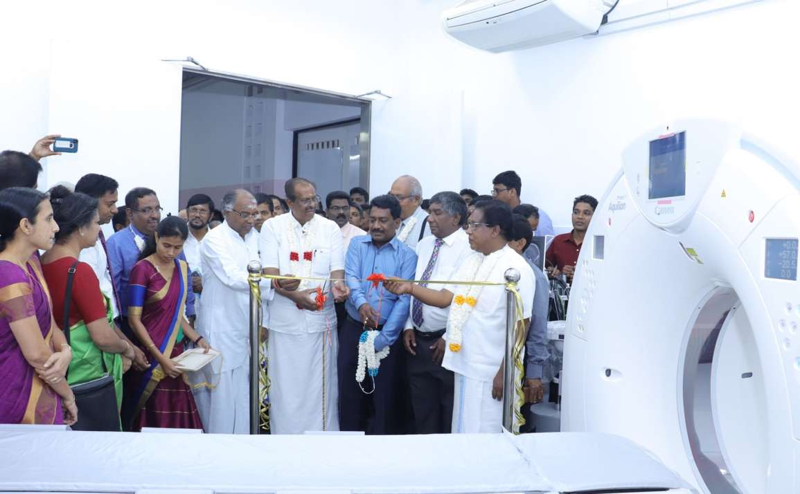 Inauguration Ceremony of  CT Scanner at Teaching Hospital Jaffna