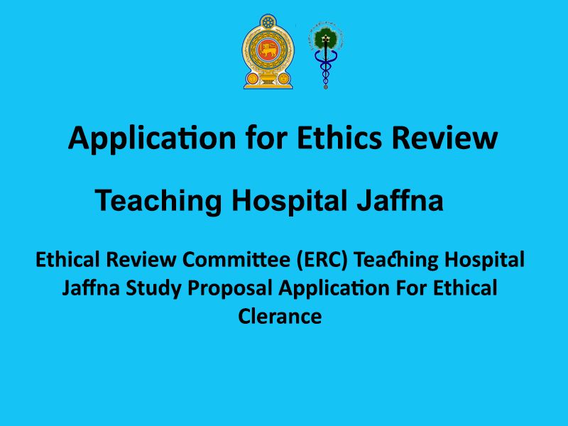 Application for Ethics Review